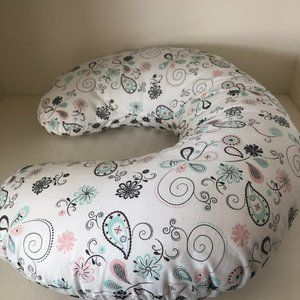 Reversible Nursing Pillow High Contrast Pattern